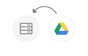 Backing up the Google Drive cloud disk data to NAS